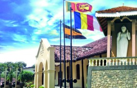 The 'National Anthem' was first sung at Mahinda Galle