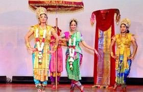 The Ramayana comes alive on the Ladies' College stage