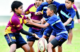 Junior double for Wesley at Mini Rugby carnival