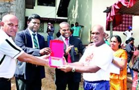 Veteran Athlete Rupasinghe felicitated
