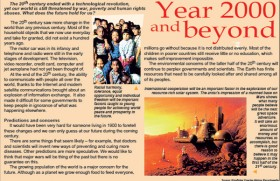 Year 2000 and beyond