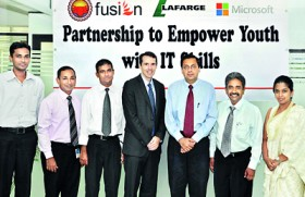 Lafarge Mahaweli Cement and Microsoft partners Sarvodaya in IT project
