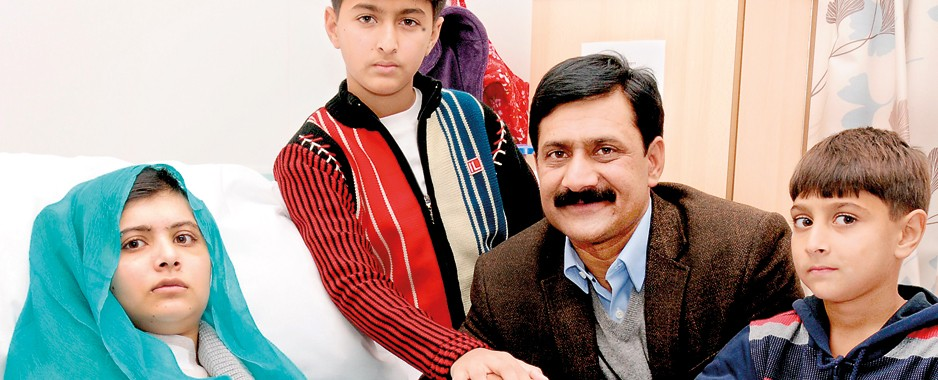 Malala's father: 'When she fell, Pakistan stood and the world rose'