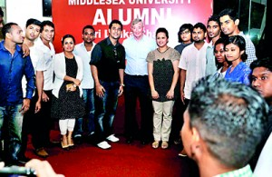Alumni of Middlesex University from ICBT celebrates third annual get-together