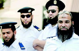 Sacked for growing beards, Egyptian police demand jobs back