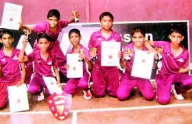 Royal Institute All-Island U-12 badminton champs