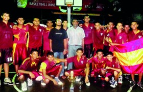 Ananda clinches cager title