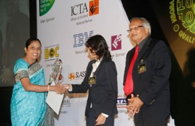 IronOne Technologies wins gold at National Best Quality Software ICT Awards 2012