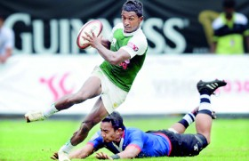 Lanka 7s team bags Plate in Singapore