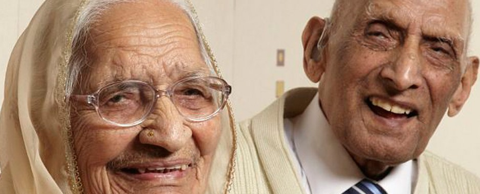 World's longest married couple share their secrets