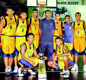 Royal College Basketball team