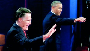 Barack Obama (right) and Mitt Romney (left) have two days to secure as many votes as they can (REUTERS)