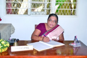 The Principal  Mrs. W. P.  Gamage