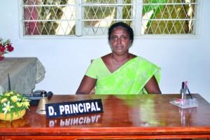 The Deputy  Principal  Mrs.   D.T.M.N Perera