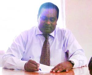 The Principal  Lakshman Wijeratne