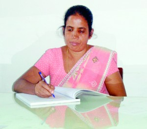 The Vice Principal  Mrs. C.K. Waniganetti
