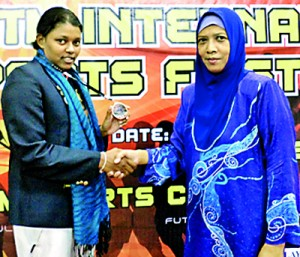 SLIIT's Gayani Perera 2nd runner-up in Badminton women's singles.