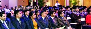 Graduates and Invitees at ESOFT Metro Campus Graduaion 2012