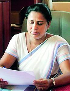 The�incumbent�Principal of Southlands College Mrs. Shanthi Senavirathne