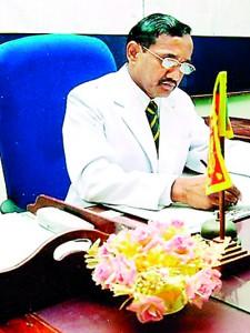 The Present Principal- Mr. D.P.L.S. Gunasekara