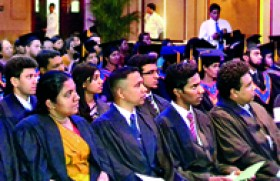 1st Graduation Ceremony for Buckinghamshire New University Degree Holders of ESOFT Metro Campus