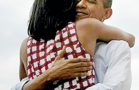 Obamas in love: The most retweeted moment in history
