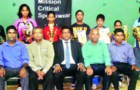 Udaya and Muthumali take top honours