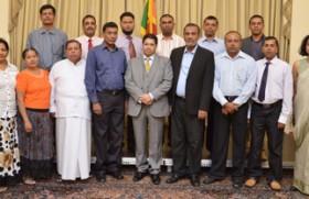 Hambantota chamber delegation visits UK