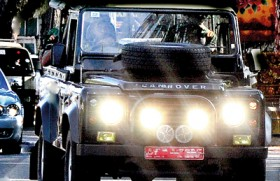 Crackdown on over-bright vehicle headlamps