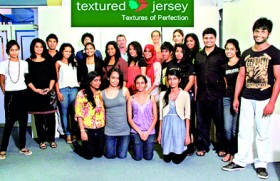 Three unique 'Textured Jersey' collections at SLDF 2012