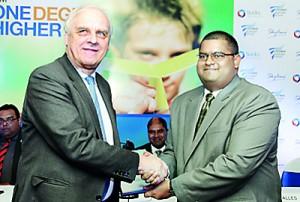 Prof Godfrey and Ramantha Alles