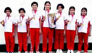 Badminton Under 12 Super Division Champions