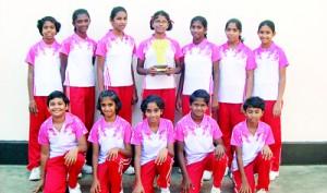 Badminton Under 15 A Division Champions