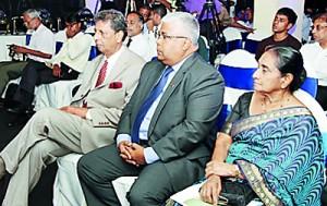General Rohan Daluwatte, Mr. Kamal Ratwatte and Mrs. Rohini Alles
