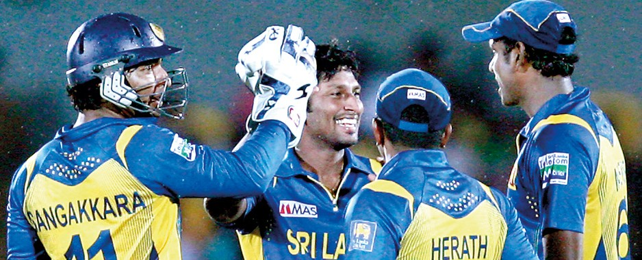 Rain no barrier; Lanka take series with ease