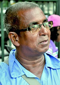 You can't say that there aren't any female athletes around. Maybe there are really good athletes staying outside Colombo, coaches must go and stay there. We are just training athletes from Colombo. After the school level, athletes leave the sport.- Ananda Athukorala (Athletics coach)