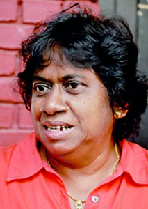 The problem is that the standards of female athletes have gone down.  In rural areas they have a lot of talent but the problem is that they are very poor.  So if they come to the city their talent can be identified and they can be properly trained. All the facilities are in Colombo. - Badra Gunawardena (Renowned past athlete and coach)