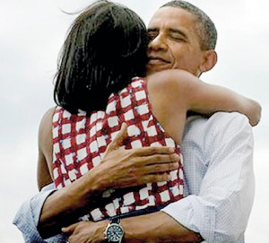 The Obamas in love: most retweeted moment in history
