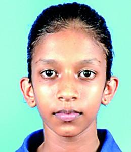 Hansani Piyumila U-12 Singles Champion-Girls