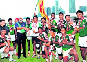 Sri Lanka is worthy Plate winners three times in a row