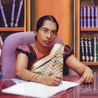 Ms. K.K.K.Kodithuwakku, The Present Principal of the College