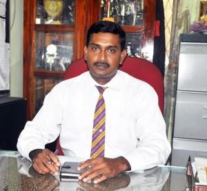 The Present  Principal Mr.C.D. Nagahawatte
