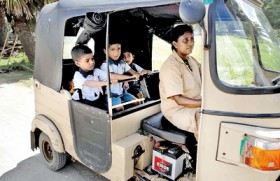 Jaffna's female trishaw drivers bridge the gap