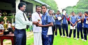 Ashan Wanasekara of St. Peter's - Best Batsman