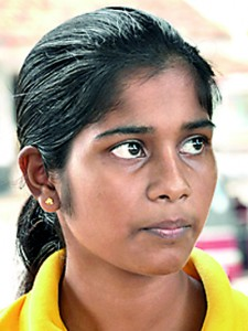 There are good football players in the country but they are not recognized. The sport should be promoted by local sports authorities and at the school level. They should also identify talented players. - Chamini Dhananjika - (Student)