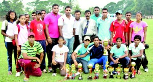 Athletes who represented the Galle district with theire haul of trophies