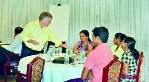 """""""MCom Students at a Workshop on effective presentation"""""""