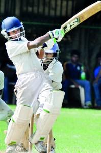 Riyan Perera - Man of the match, hitting one of his boundaries