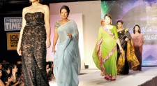 Guess who took the ramp to the cheers of the crowd?