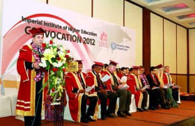 The Start for a Brighter tomorrow : A Glimpse of the IIHE Graduation 2012
